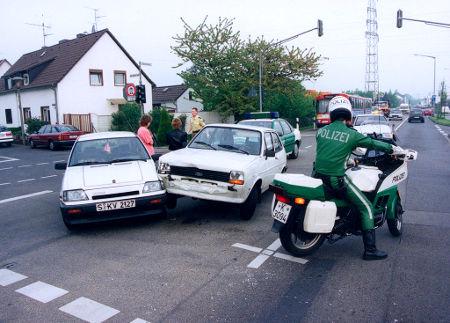 Autounfall Kfz-Versicherung