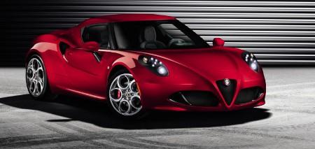 Alfa Romeo 4C Serie Genf 2013