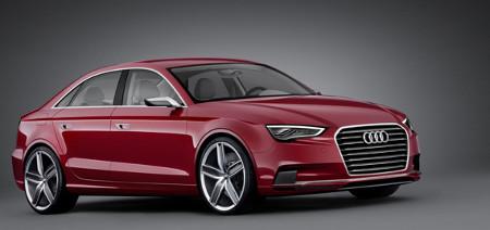 Audi A3 Stufenheck-Studie