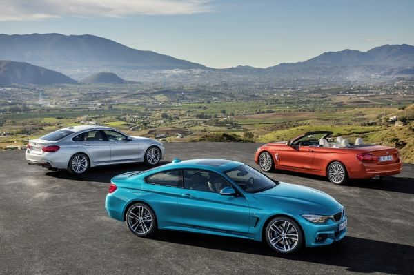 BMW 4er Coupé, Cabrio, Gran Coupé, M4 Facelift 2017