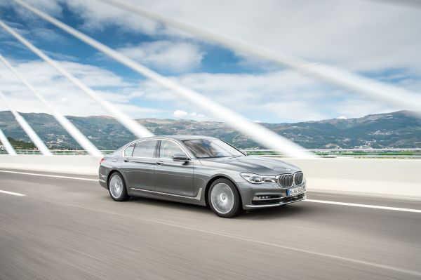 BMW 7er 750d xDrive Sechszylinder-Diesel 2016