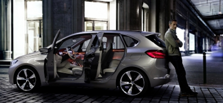 BMW Concept Active Tourer Pariser Autosalon 2012