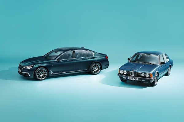 BMW 7er Edition 40 Jahre