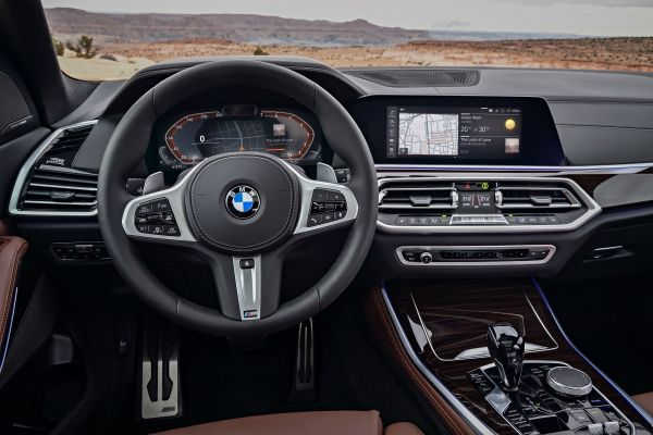 BMW Live Cockpit & BMW Operating System 7.0 2018
