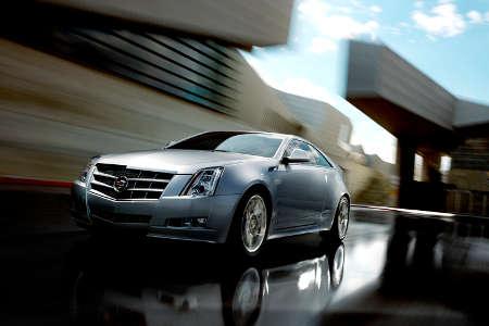 Cadillac CTS Coupé 2011