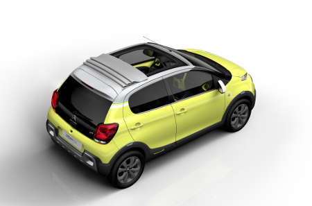 Citroen C1 Urban Ride Concept 2014