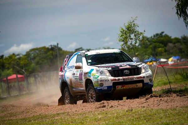 Xavi Foj Motorsport Toyota Land Cruiser 331 Rallye Dakar 2017