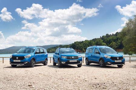 Dacia Stepway (Lodgy, Sandero, Dokker)