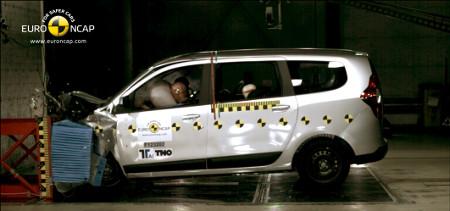 Dacia Lodgy Euro NCAP Crashtest 2012