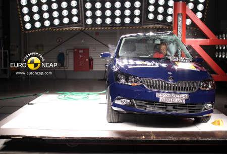 Euro NCAP Crashtest Skoda Fabia 2014