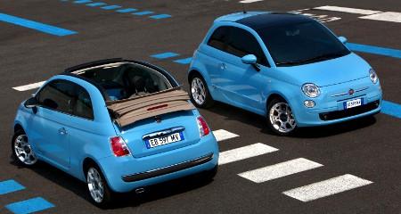 Fiat 500C und Fiat 500