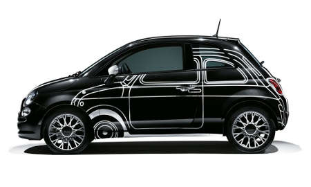 Fiat 500 Ron Arad Edition 2014