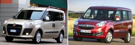 Fiat Doblo II & Opel Combo IV