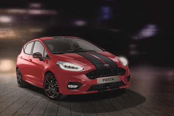 Ford Fiesta ST-Line Red & Black 2018