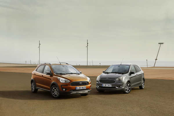 Ford Ka+ 2018 Facelift & Ford Ka+ Active