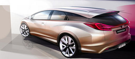 Honda Civic Wagon Concept