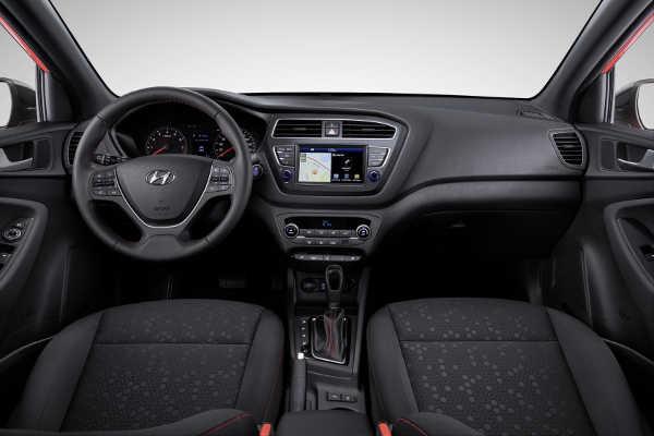 Hyundai i20 2018 interieur Facelift