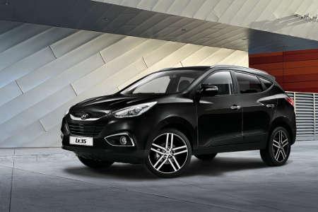 Hyundai ix35 Black & Steel