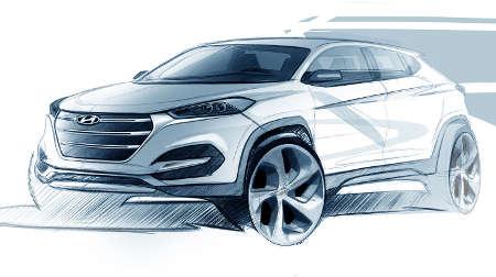 Hyundai Tucson Teaser