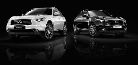 Infiniti FX Black and White Edition