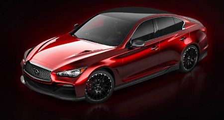 detroit 2014 infiniti q50 eau rouge studie mit f1 genen. Black Bedroom Furniture Sets. Home Design Ideas