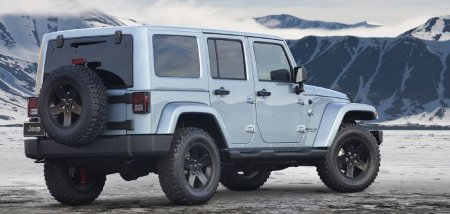 Jeep Wrangler Artic