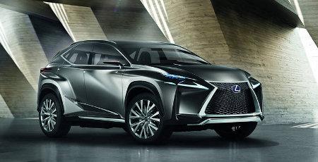 Lexus LF-NX IAA 2013