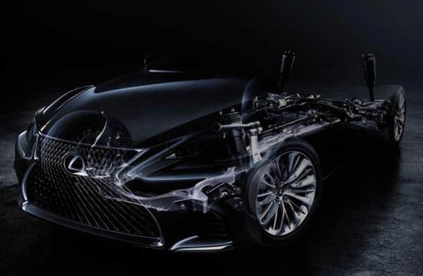 Lexus LS V 2017