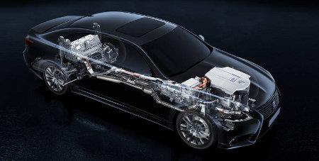 Hybrid Lexus LS 600h 2013
