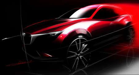 Mazda CX-3 Teaser