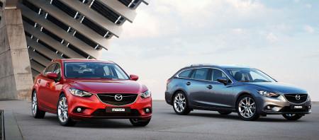 Mazda6 Limousine und Mazda6 Kombi