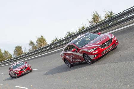 Mazda6 Rekordjagd 2014