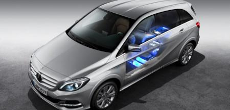 Mercedes B 200 NGD mit Erdgas