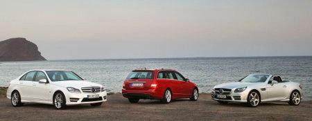 Mercedes C-Klasse und SLK-Klasse