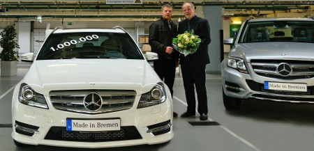 Mercedes C-Klasse 1 Million Bremen