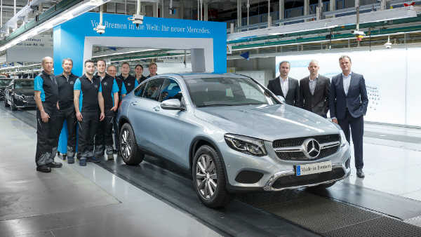 Mercedes GLC Coupé Produktion Bremen