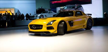 Mercedes SLS AMG Black Series LA Auto Show 2012