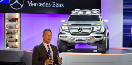 Mercedes Ener-G-Force LA Auto Show