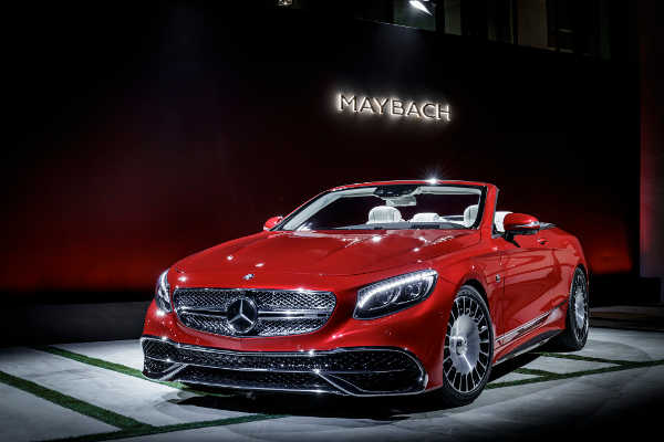 Mercedes-Maybach S 650 Cabrio 2017