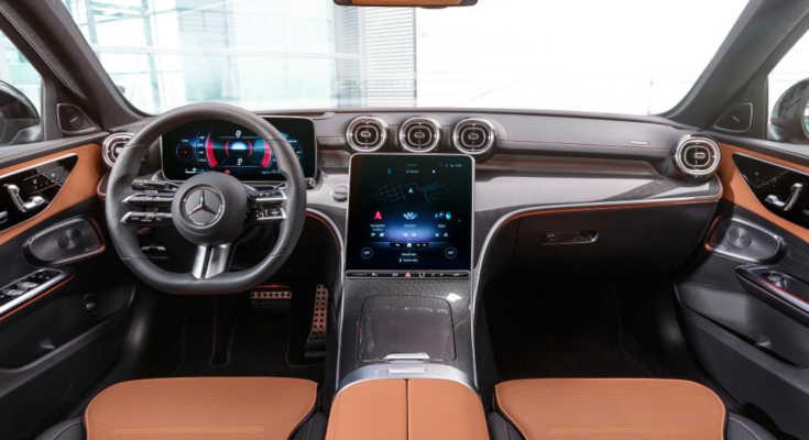 Mercedes C-Klasse W206 (2021) Cockpit