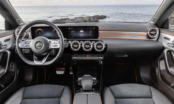 Mercedes CLA Coupé 2019 Interieur