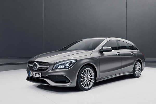 Mercedes CLA Shooting Brake Night Edition 2018
