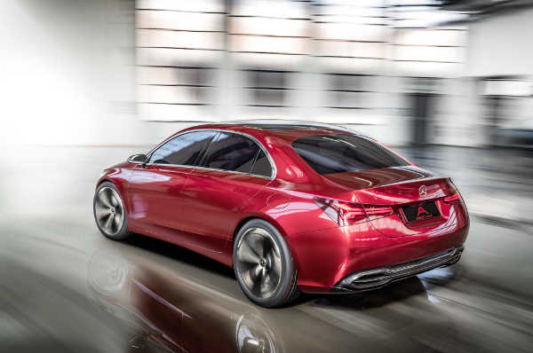 Mercedes A Sedan Concept: Vorschau auf A-Klasse 2018