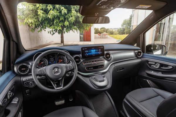 Mercedes EQV 2020 Interieur