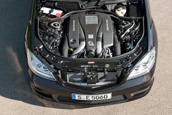 Mercedes S-Klasse AMG V8