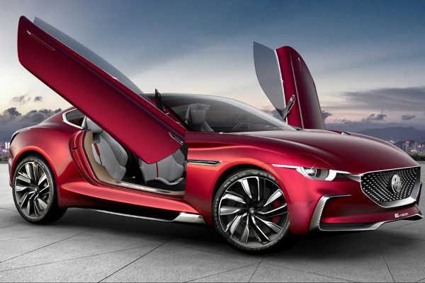 MG E-Motion Concept Auto Shanghai 2017