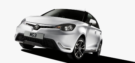 MG3 Europaversion