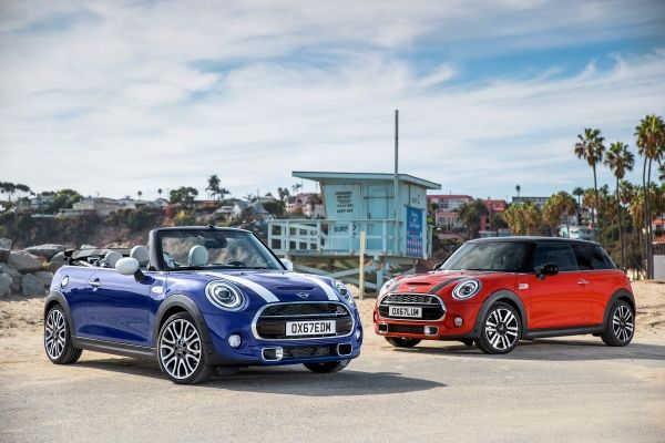 MINI Dreitürer, MINI Fünftürer & MINI Cabrio Facelift 2018