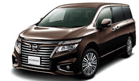 Nissan El Grand 2013