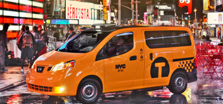 Nissan NV200 New York City Taxi